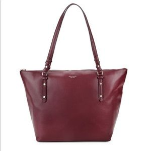 Very Gently used Kate Spade Polly Leather Tote